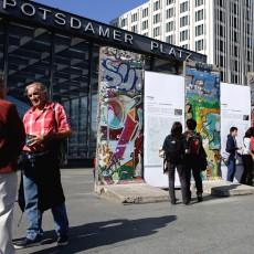 Mauerreste Potsdamer Platz