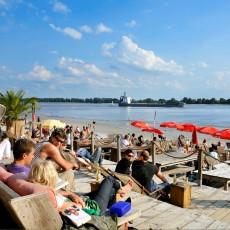 Strand Elbe Hamburg