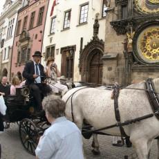 Kutschfahrt durch Prag