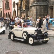 Oldtimer in Prag