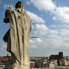 Breslau: Blick über die Stdt