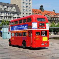 Oldtimer Bus Leipzig
