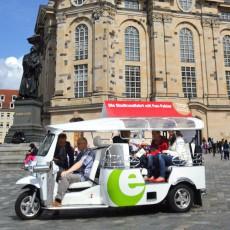 Mit der Autorikscha durch die Altstadt