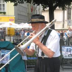 Musik findet sich überall in Prag